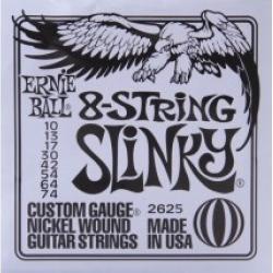 Ernie Ball 2625 Nickel 8 Slinky 10-74